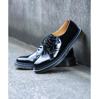 ビームス(BEAMS)のDr.Martens × BEAMS / 別注 パテント 3ホール(ローファー/革靴)