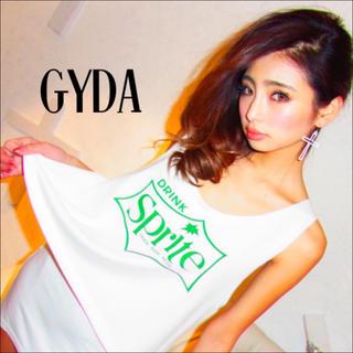 GYDA - GYDA sprite ルーズスウェット タンクトップ♡アンビー EMODA