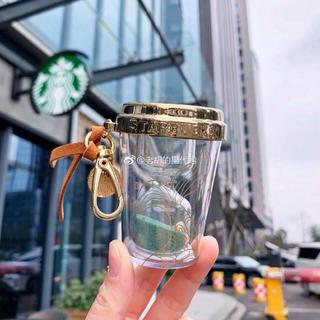 Starbucks Coffee - 砂時計 キーホルダー キーチェーン ストラップ 台湾スターバックスバッグチャーム