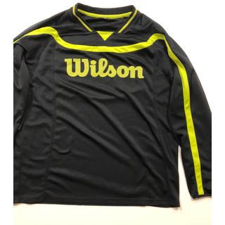 ウィルソン(wilson)のウィルソン 長袖 アウター ジャージ バドミントン テニス(ウェア)