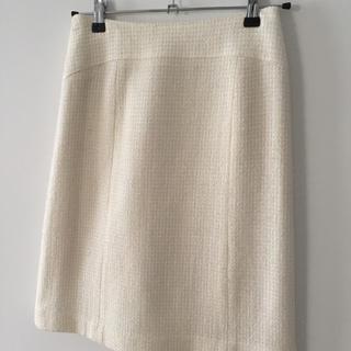 FIGNO  ツイードタイトスカート  ホワイト