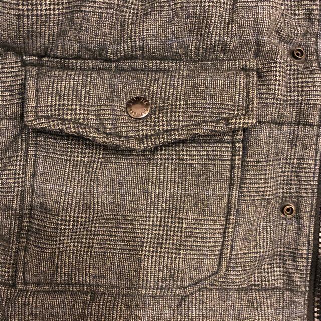 GAP(ギャップ)のGAPグレンチェック柄ダウンジャケット✨120サイズ キッズ/ベビー/マタニティのキッズ服 男の子用(90cm~)(ジャケット/上着)の商品写真