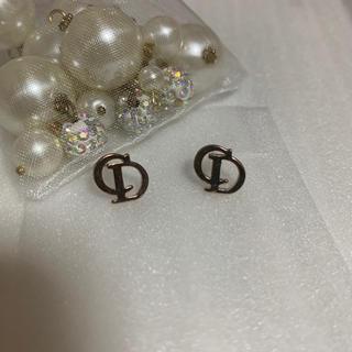 Christian Dior - ピアス ディオール 金色