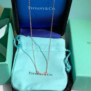 Tiffany & Co. - Tiffany & Co.ティファニー スマイル ネックレス ダイヤ
