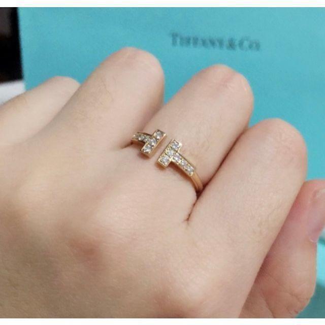 Tiffany & Co.(ティファニー)の最終値下げ!!!!! ファニー(正規品) T字リング レディースのアクセサリー(リング(指輪))の商品写真