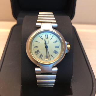 Dunhill - dunhill ダンヒル ミレニアム 腕時計  レディース 稼働品ゴールドカラー