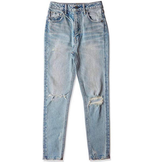 SLY - SLY jeans ダメージ