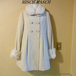 MISCH MASCH - MISCH MASCHミッシュマッシュ♡ホワイトラメファーコート