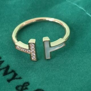 ティファニー(Tiffany & Co.)の美品Tiffany&Co ティファニー リング指輪 刻印 レディース 正規品(リング(指輪))