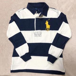 POLO RALPH LAUREN - 百貨店購入 ラルフローレン ボーイズ 長袖ポロシャツ  120cm ビッグポロ