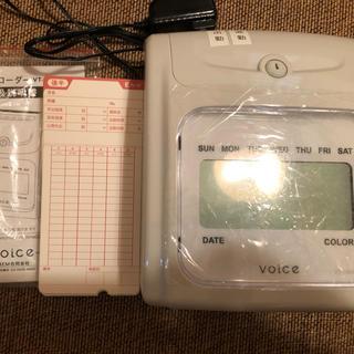 VOICE タイムレコーダー VT-1000