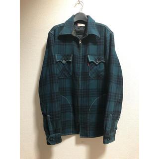 Levi's - levis チェックシャツジャケット 緑
