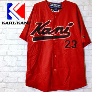 カールカナイ(Karl Kani)の【KANI】カナイ ベースボールシャツ スタジアム シャツ/XL(シャツ)