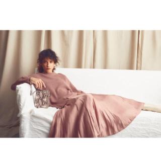 Mila Owen - ❤️完売品❤️ ミラオーウェン スカートコーディネートニットワンピース ピンク