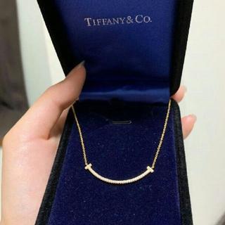 Tiffany & Co. - K18 正規品 TIFFANY&Co.T スマイル ネックレス