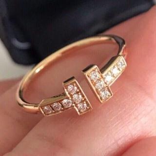 Tiffany & Co. - ティファニー ダイヤ Tワイヤー リング Tiffany & Co.