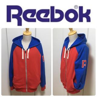 Reebok - ☆ユニセックスで☆リーボック☆クラッシック☆ジップパーカー☆Lサイズ