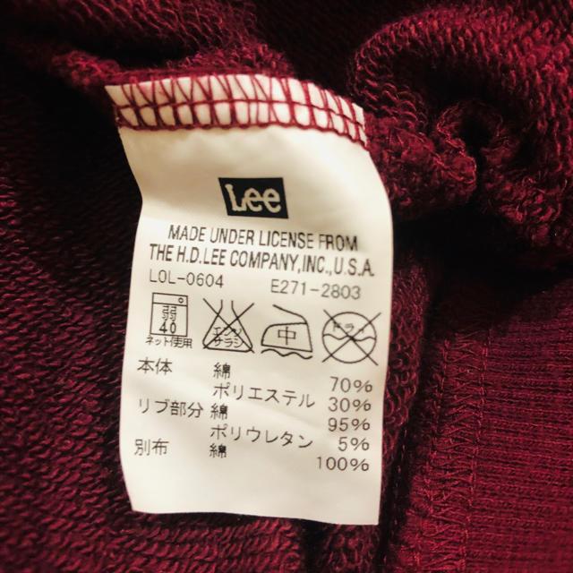 Lee(リー)の【Lee トレーナー】 レディースのトップス(トレーナー/スウェット)の商品写真