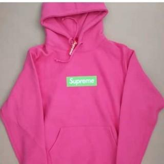 Supreme - supreme スウェット ボックスロゴ ピンク Sサイズ