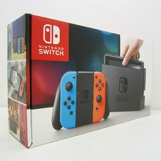 Nintendo Switch - 新品未使用●Nintendo Switch●ネオンブルー●