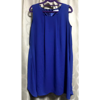 BARNEYS NEW YORK - バーニーズニューヨーク ドレス ワンピース 青 ブルー