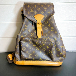 LOUIS VUITTON - ルイヴィトン LOUIS VUITTON モンスリ ルイヴィトンリュック