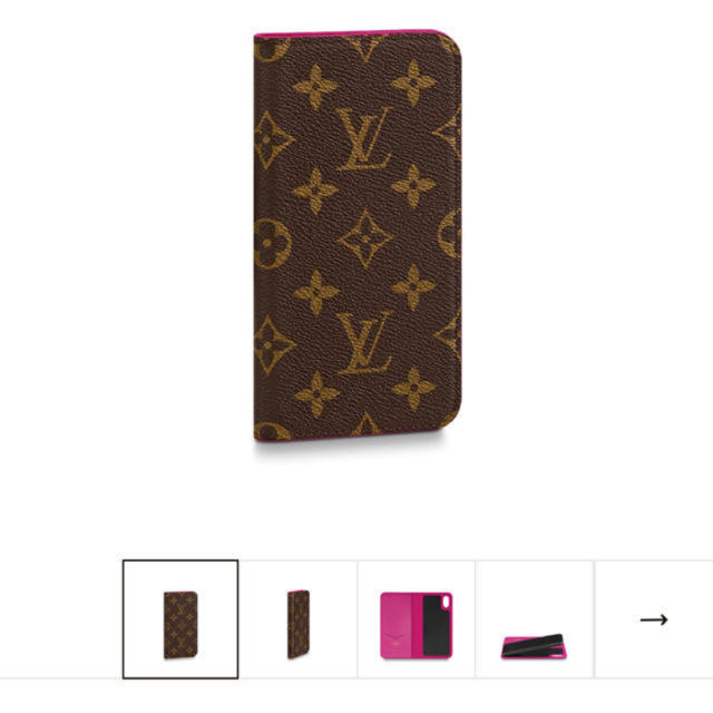 LOUIS VUITTON - LOUIS VUITTON ルイヴィトン iPhone XR ケースの通販