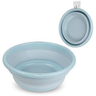 バケツ Outivity 洗い桶 折りたたみ 洗面器 Medium ブルー