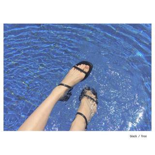 OHOTORO - ohotoro peanuts sandals black