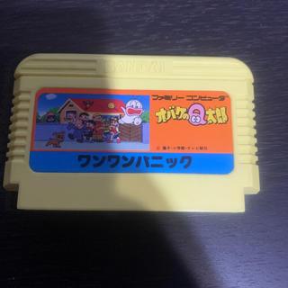 ファミリーコンピュータ(ファミリーコンピュータ)のオバケのQ太郎 ワンワンパニック(家庭用ゲームソフト)