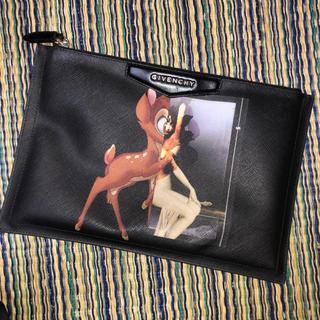 ジバンシィ(GIVENCHY)のGIVENCHY バンビ柄 クラッチバッグ 初期モデル(セカンドバッグ/クラッチバッグ)