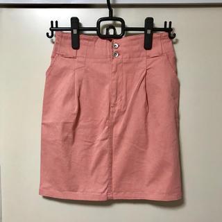 ページボーイ(PAGEBOY)のピンクタイトスカート(ミニスカート)