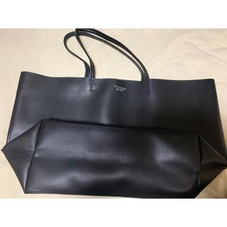 Victoria's Secret - 新品未使用品 大容量 無地 黒 ヴィクトリアズシークレット トートバッグ
