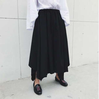 ⭐️激安特価⭐️袴パンツ ワイド モード系 サルエル ブラック 男女兼用(その他)