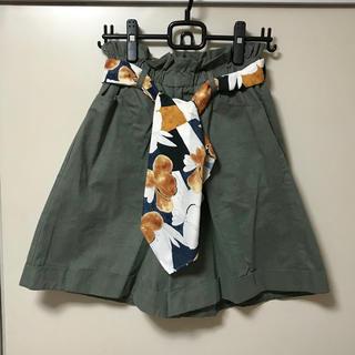 ラベルエチュード(la belle Etude)のスカーフ付きショートパンツ(ショートパンツ)