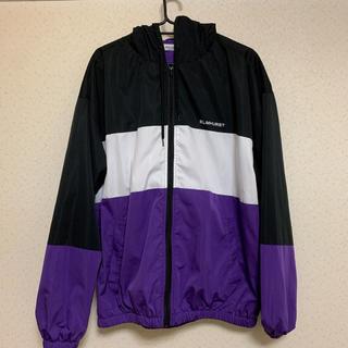 WEGO - WEGO カラーパネルZIPブルゾン 紫