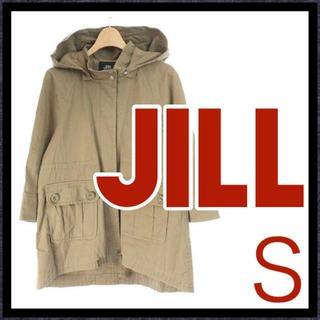 ジルバイジルスチュアート(JILL by JILLSTUART)のジルバイジルスチュアート JILL コート ミリタリー ショート 七分袖 S(ミリタリージャケット)