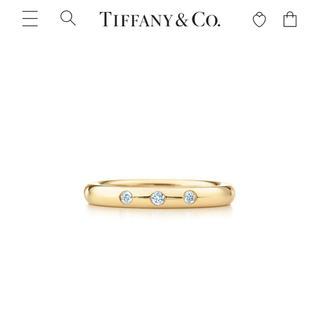 ティファニー(Tiffany & Co.)のティファニー エルサ・ペレッティ™ スタッキング バンドリング 8号(リング(指輪))