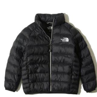 THE NORTH FACE - 新品 ノースフェイス 130 黒 ナイロンジャケット ダウン アウター 子供服