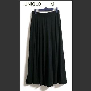 UNIQLO M スカーチョ ブラック