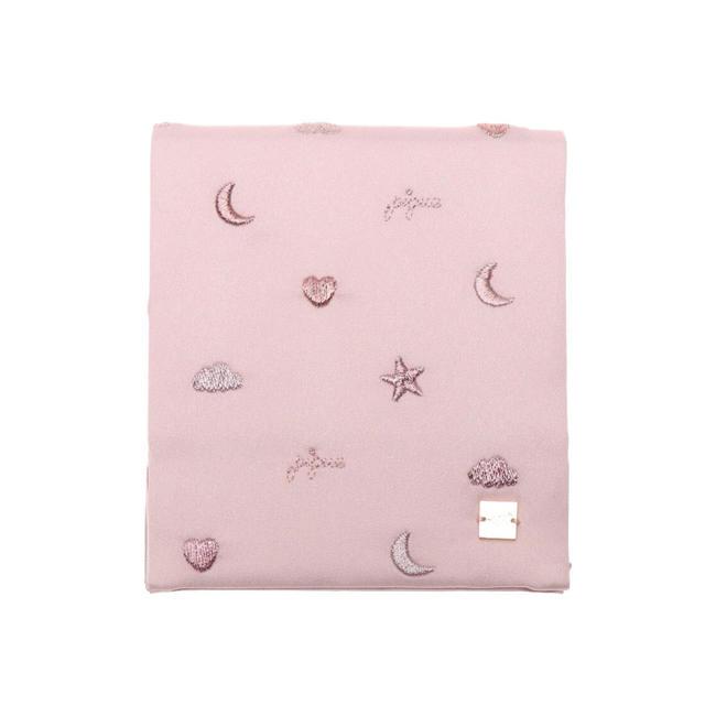 gelato pique(ジェラートピケ)のジェラートピケ  モチーフエンブロイダリーミラー (ピンク) レディースのファッション小物(ミラー)の商品写真