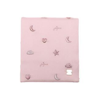 gelato pique - ジェラートピケ  モチーフエンブロイダリーミラー (ピンク)