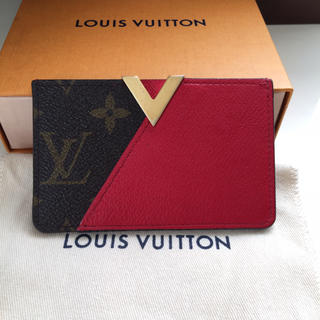 LOUIS VUITTON - 正規品ルイヴィトン名刺入れ2017シリアル