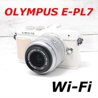 OLYMPUS - ❤️Wi-Fi搭載&自撮り❤️人気ホワイト❤️OLYMPUS E-PL7