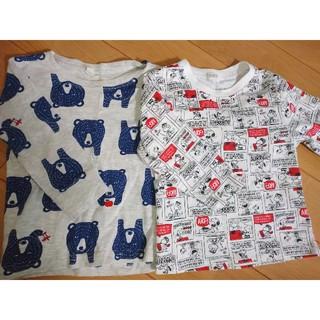 西松屋 - 長袖Tシャツ 二枚セット 95