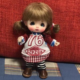ラグランワンピセット(人形)