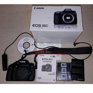 Canon - CANON EOS 80D ボディ 互換バッテリー リモコンケーブル