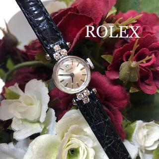 ロレックス(ROLEX)の希少 ロレックス  アンティーク 大粒ダイヤ(腕時計)