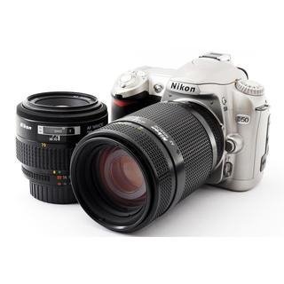 Nikon - Nikon D50 標準&望遠レンズセット★SDカード、ストラップ付き!