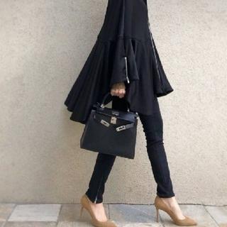 DOUBLE STANDARD CLOTHING - ダブスタ♡ブラック ポンチョ